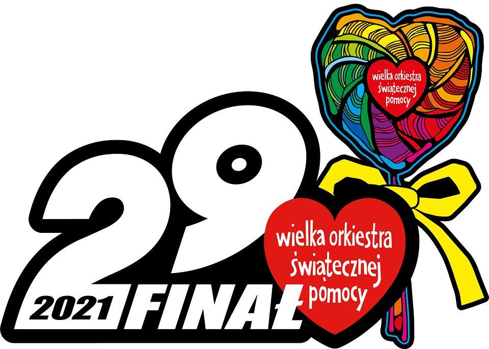 logo 29 finału WOŚP