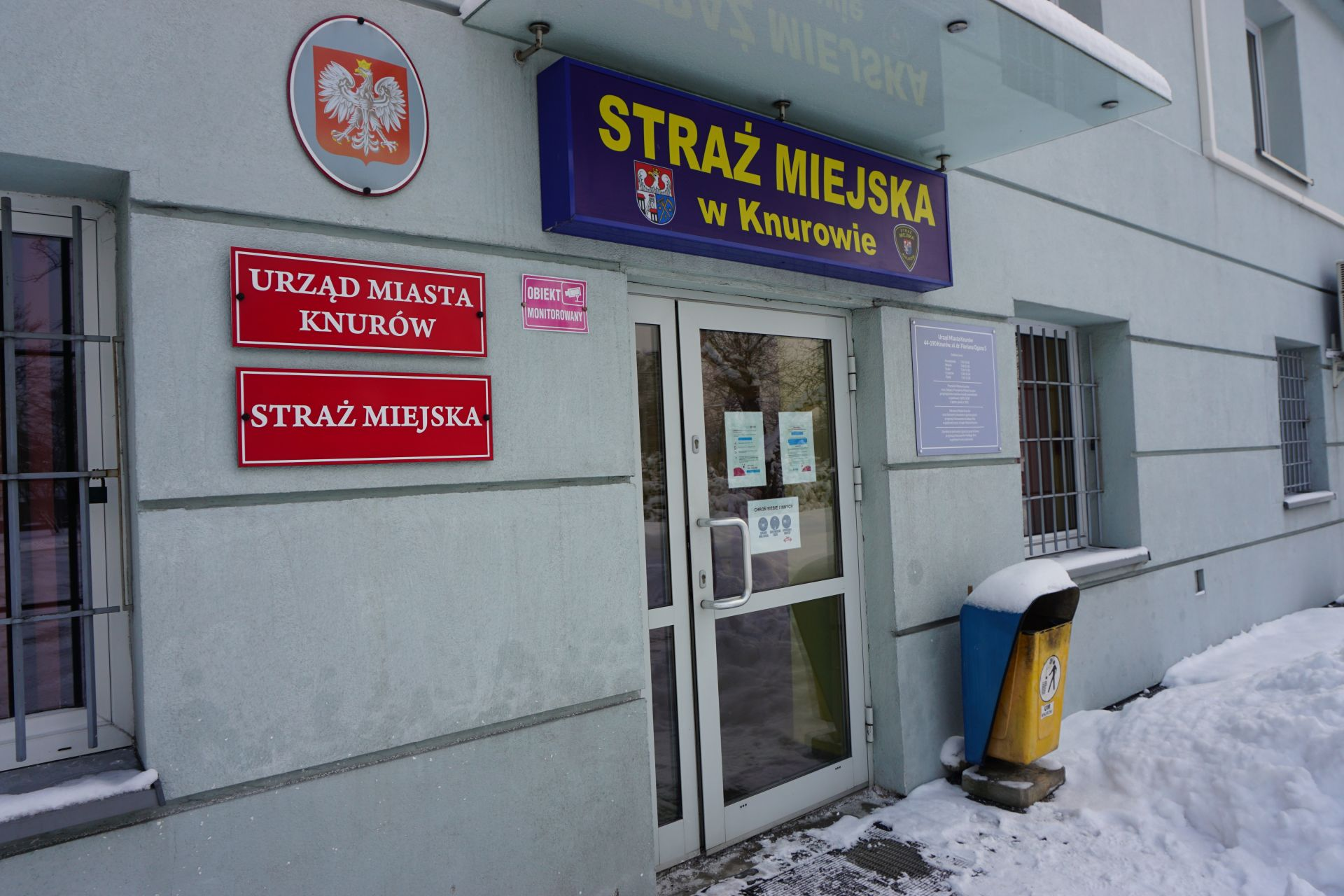 Siedziba Straży Miejskiej w Knurowie