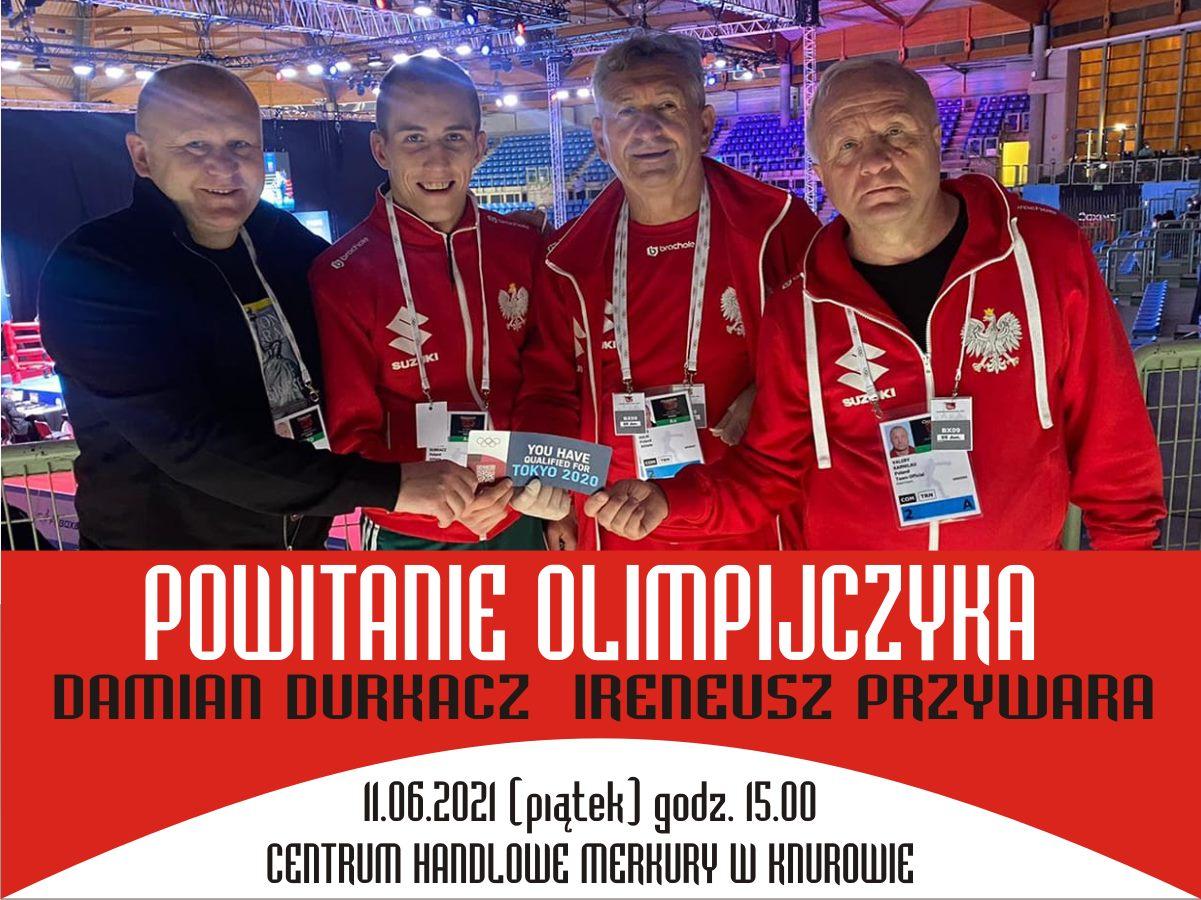 Damian Durkacz wraz z kadrą trenerską