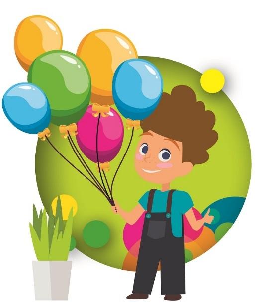 grafika z projektu kolorowe przedszkole